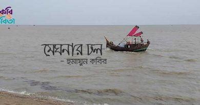 মেঘনার ঢল - হুমায়ুন কবির